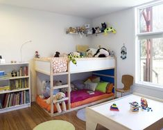 Ikea Shared Kids Room 35 cool ikea kura beds ideas for your kids' rooms | digsdigs