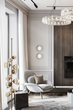 French Living Rooms, Classic Living Room, Interior Design Living Room, Living Room Designs, Living Room Decor, Interior Colors, Bedroom Decor, Modern Classic Interior, Luxury Interior