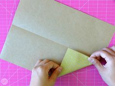 We didn't just hand these letters to each other willy nilly, we found creative ways to fold them up. Learn how to fold a letter into a pull tab note! Origami Letter Fold, Letter Folding, I Tried, Crafts For Kids, Notes, Letters, Learning, Creative, Cards