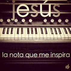 Jesús es la nota que me inspira... - taken by @elise Black Juvenil - via http://instagramm.in