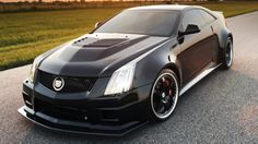 Hennessey 1,226-HP Twin Turbo 242 mph Cadillac CTS-V Coupe: Because a 190 mph Cadillac isn't fast enough.