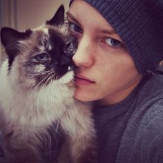Erika Linder has the most magnificent eyes I've ever seen