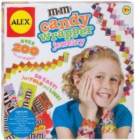 Alex Toys Do-it-Yourself Wear M'S Candy Wrapper Jewelry, Multicolor New Crafts, Sewing Crafts, Crafts For Kids, Arts And Crafts, Craft Kids, M M Candy, Alex Toys, Learning Games For Kids, Jewelry Kits
