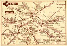 Netzkarte 1952