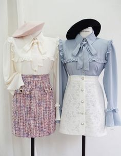 Korean Fashion – How to Dress up Korean Style – Designer Fashion Tips Kawaii Fashion, Lolita Fashion, Cute Fashion, Look Fashion, Girl Fashion, Vintage Fashion, Fashion Outfits, Womens Fashion, Fashion Design
