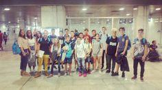 Preparados para la aventura! Salida del programa #blackrock en el aeropuerto de #Barcelona #WeLoveBS #Idiomas #Inglés #verano #Cursos #Travel #Language #Summer #Amigos #Friends