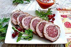 Мясной рулет «Стефания» рецепт с фото, как приготовить на Webspoon.ru