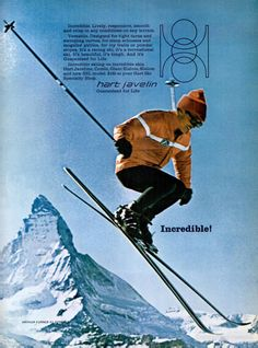 SKIING Jan 1969 - Hart - pugski