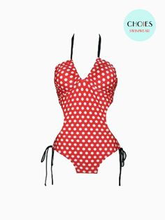 Cute Dots Printed Swimsuit