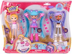 Doll Playsets - Betty Spaghetty S1 Deluxe Mix N Match Pack -- Learn more by visiting the image link.