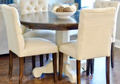 How to Refinish a Farmhouse Table (when you have absolutely no idea what you're doing.) | Lamberts Lately