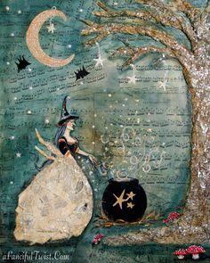 A Fanciful Twist: Witches and Pumpkins and Ghosties + Somerset ...