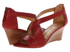 Nine West Ronton Red Leather - 6pm.com