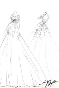 bridal sketches | Tumblr