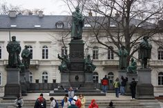 Luther Lands Tour — Cradle of the Reformation » Statues of Lutheran Reformers, Worms, Germany