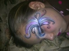 Needs more work Fairy Makeup, Carnival, Fantasy, Face, Painting, Carnavals, Painting Art, The Face, Paintings