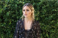 Hair How-To: The Romantic Up-Do | Olivia Palermo - October 2016