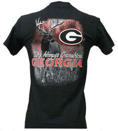 Georgia Bulldogs Gametime Adult Black Collegiate Shortsleeve Unisex T Shirt | eBay