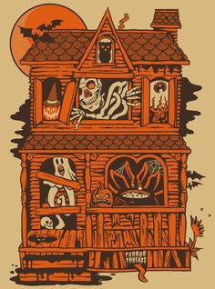 Broke Horror Fan showcases horror movie memorabilia new and old, serving as the ultimate gift guide for any genre fan. Halloween Artwork, Halloween Icons, Retro Halloween, Halloween Photos, Halloween Horror, Holidays Halloween, Halloween Themes, Halloween Decorations, Vintage Halloween Images
