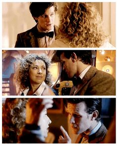 The Doctor and River.