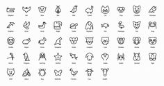 Take a look at our impressive vector icons pack that include line icons, animal icons, arrow view icons, body part icons, building & landmarks etc.