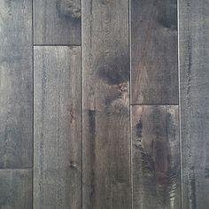 Maple Slate by Mullican Flooring. Solid hardwoods. Rustic, farmhouse flooring