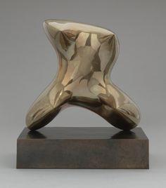 "Henry Moore (British, 1898–1986)  Pointed Torso  Date:1969Medium:BronzeDimensions:25 3/4 x 22 1/2 x 14"" (65.5 x 57 x 35.7 cm) including base"