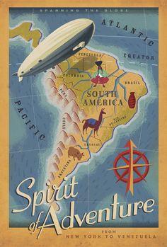 Spirit of Adventure (Disney's UP) poster