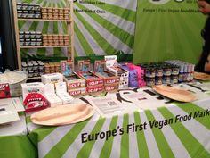Veganz auf der VeggieWorld in Düsseldorf.
