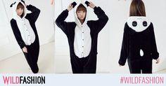 Deghizeaza-te in cel mai simpatic ursulet si inveseleste serile de toamna cu un pijama party! Panda, Mai, Model, Jackets, Fashion, Down Jackets, Moda, Fashion Styles