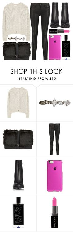 """""""street style"""" by sisaez ❤ liked on Polyvore featuring MANGO, maurices, Sam Edelman, 7 For All Mankind, Gianvito Rossi, Agent 18, Agonist, Smashbox, women's clothing and women's fashion"""