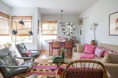 Fais le tour Annie : )  J'aime tout, sauf la chambre... Simran's Uniquely Beautiful Apartment — House Tour