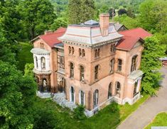 1869 Fixer Upper For Sale In Claverack New York Abandoned Mansion For Sale, Abandoned Mansions, Abandoned Plantations, Abandoned Houses, Abandoned Places, Covington Kentucky, Old Houses For Sale, Flood Zone, Second Empire