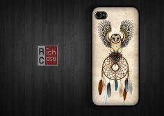 Owl dream catcher phone case