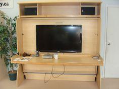 Hidden Beds Factory fold away bed | desk | Murphy bed | HiddenBed Factory