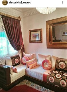 Living Room Remodel, Living Room Decor, Living Rooms, Small Living Room Storage, Design Marocain, Built In Couch, Home Furniture, Furniture Design, Arabic Decor