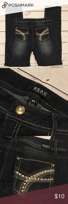 Beau Dawson Jeans Size 10 L 31 Beau Dawson Jeans Size 10 L 31 Beau Dawson Jeans Boot Cut