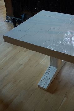 Piet Hein Eek white table