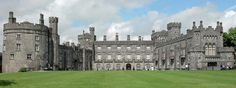 Kilkenny Castle in #Kilkenny, Ireland. The Butlers owned this castle from the 1300s to the 1900s. My direct descendants under my maiden name!