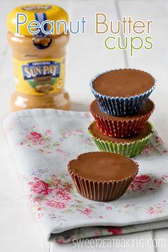 Homemade Supersized Peanut Butter Cups Recipe