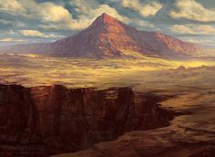 looks like the plateau leaped off to fly in one of my story bits - Plateau by noahbradley.deviantart.com on @deviantART