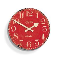 Farmhouse Kitchen Wall Clock | dotandbo.com