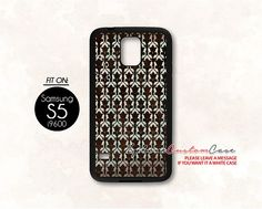 sherlock wallpaper for Samsung S5 Black case