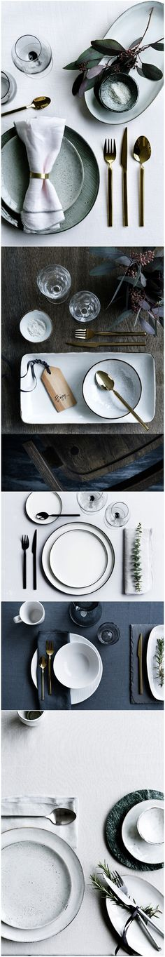 Set the table with Broste Copenhagen – Tableware Design 2020 Broste Copenhagen, Mood And Tone, Beautiful Table Settings, Table Set Up, Ceramic Tableware, Nordic Style, Wedding Table, Home Accessories, Pottery