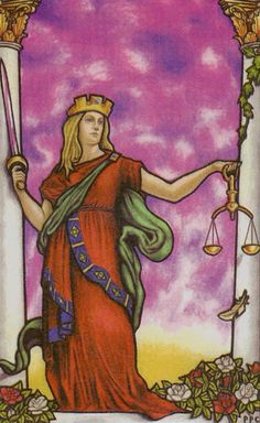 Justice - Connolly Tarot