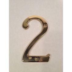 "DON-JO MFG INC. House Number (Set of 2) Size: 4"" H x 3"" W x 0.19"" D, Number: 7"