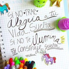 SUELTA y da la vuelta y sigue! Solo sigue!!! by @millcadesignline