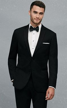 Check out this BLACK by Vera Wang Two-Button Super 130s Notch Lapel from Jos. A. Bank.