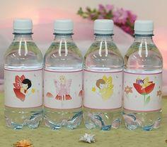 Custom fairy water bottles