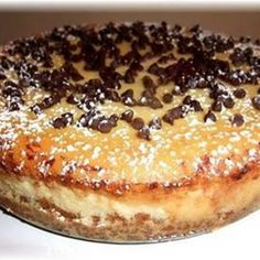 Cannoli Cheesecake | Food Friendzee Use LC GF Flour mix and  graham crackers with sugar substitutes.